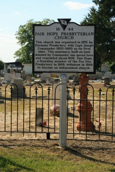 Fair Hope Presbyterian Church #44
