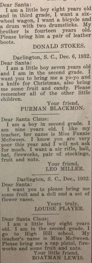 December 6, 1932, Darlington News & Press