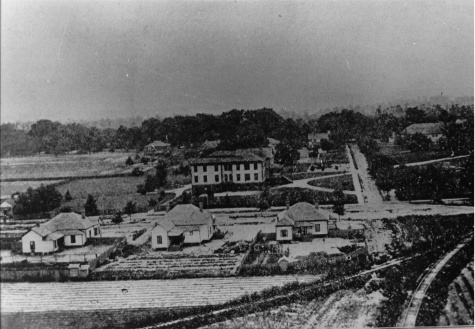Coker College Campus Arial View 1909.JPG