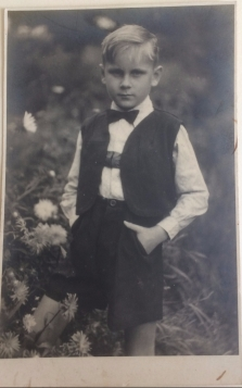 One of the German POWs' sons. Pic sent to W.P. Law.