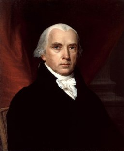 330px-James_Madison by John Vanderlyn, 1816 from Wikipedia